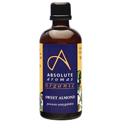 Absolute Aromas Organic Sweet Almond Oil  100ml