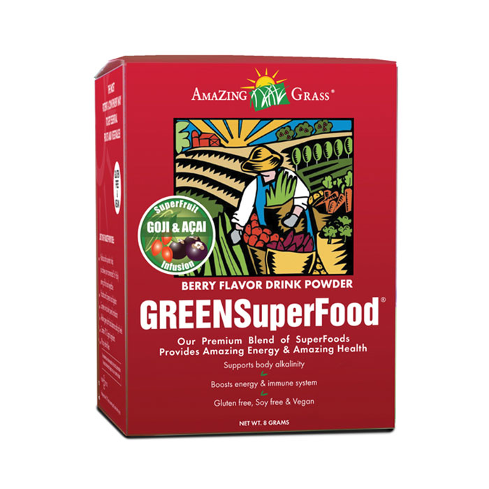 Amazing Grass Berry Green SuperFood  15 Sachets