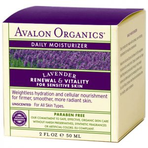 Avalon Organics Lavender Daily Moisturizer  50g