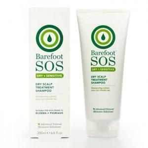 Barefoot SOS Dry Scalp Shampoo 200ml