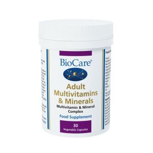 Biocare Adult Multivitamins & Minerals  30 caps