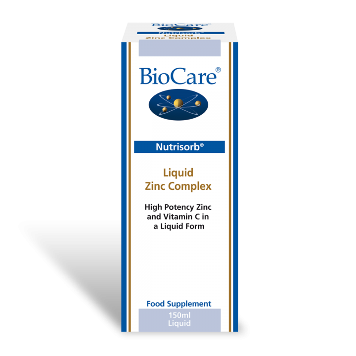 Biocare Nutrisorb Liquid Zinc Plus Ascorbate 30ml