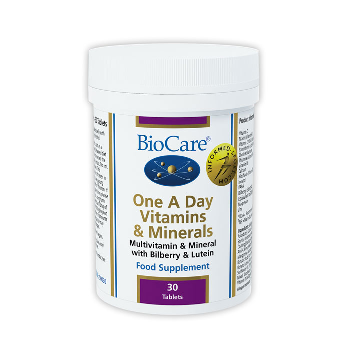 Biocare One-A-Day Vitamins & Minerals