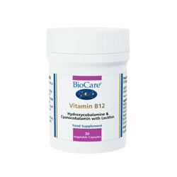 Biocare Vitamin B12  30 caps