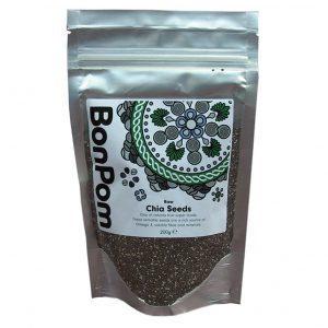BonPom Raw Chia Seeds 200g