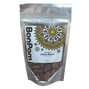 BonPom Raw Organic Cacao Beans 200g