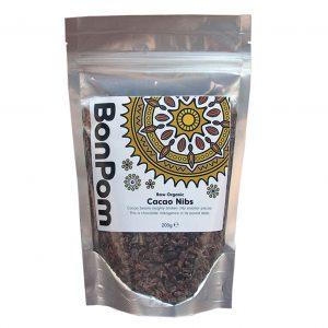 BonPom Raw Organic Cacao Nibs 200g