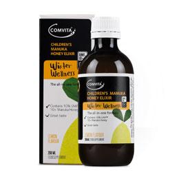 Comvita Children's Lemon and Honey Elixir  200ml