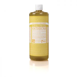 Dr Bronner's Pure Castile Liquid Soap – Citrus  946ml
