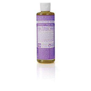 Dr Bronner's Pure Castile Liquid Soap – Lavender  237ml