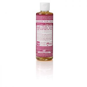 Dr Bronner's Pure Castile Liquid Soap – Rose  237ml