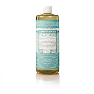 Dr Bronners Organic Liquid Baby Soap 946ml