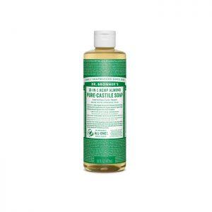 Dr. Bronner's Pure Castile Liquid Soap – Almond 473ml
