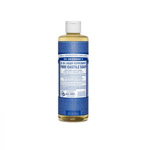 Dr. Bronner's Pure Castile Liquid Soap – Peppermint 473ml