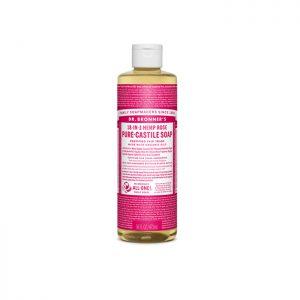 Dr. Bronner's Pure Castile Liquid Soap – Rose 473ml