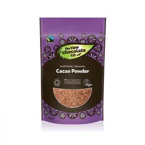 Fairtrade Organic Raw Cacao Powder 180g