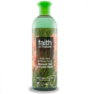 Faith in Nature Aloe Vera and Ylang Ylang Shower Gel & Foam Bath  400ml