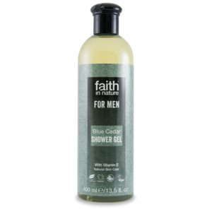 Faith In Nature For Men Blue Cedar Showel Gel 400ml