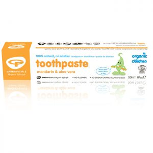Green People Organic Children Mandarin Toothpaste  50ml