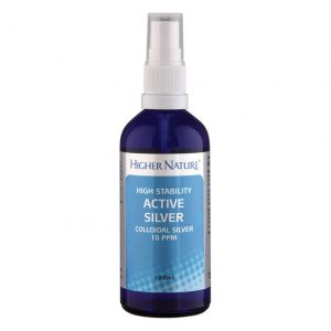 Higher Nature Active Silver Spray 100ml