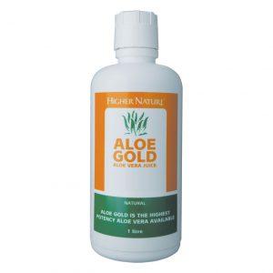Higher Nature Aloe Gold Natural Aloe Vera Juice  485ml