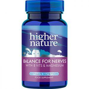 Higher Nature Balance for Nerves  30 veg caps