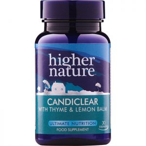 Higher Nature Candiclear  30 veg caps