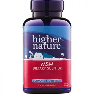 Higher Nature MSM 1000mg  90 tabs