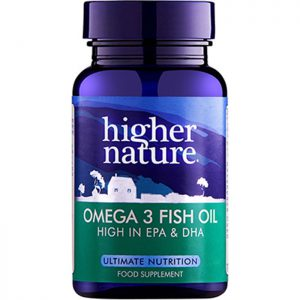 Higher Nature Omega 3 Fish Oil  90 caps