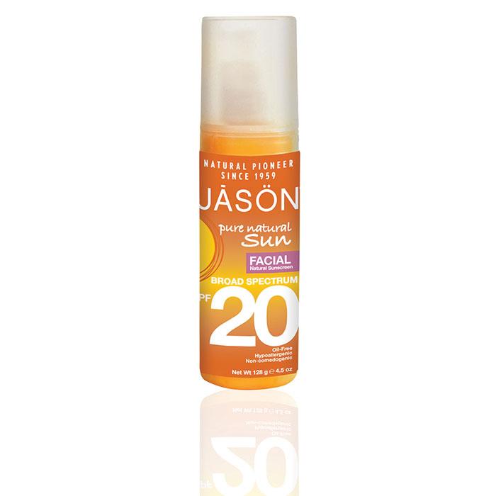 JASON Facial Natural Sunblock SPF 20  128g