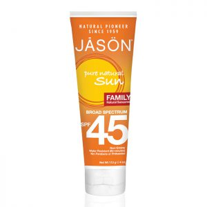 JASON Family Natural Sunblock SPF 45 113g