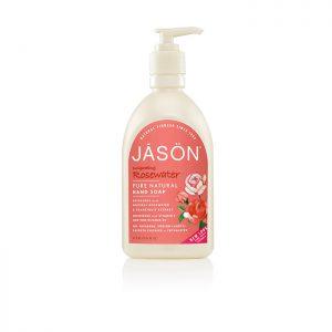 JASON Invigorating Rosewater Hand Soap  473ml