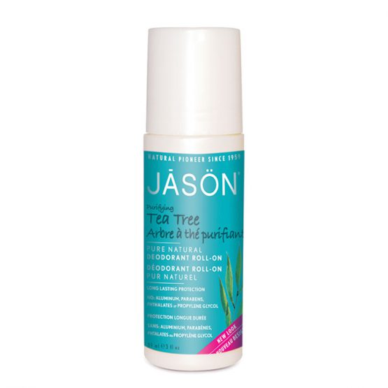 JASON Purifying Tea Tree Deodorant Roll On  85g