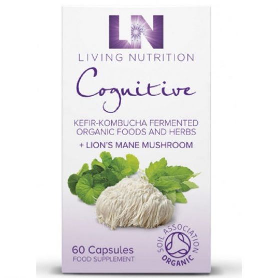 Living Nutrition Cognitive 60 vegetarian capsules