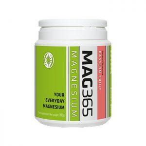 Mag365 Magnesium Powder 300g- Passion Fruit