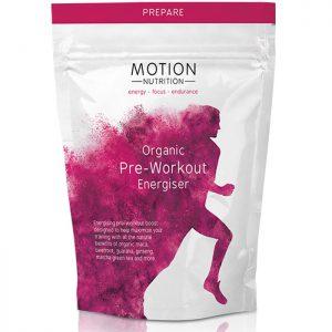 Motion Nutrition Organic Pre-Workout Energiser 200g