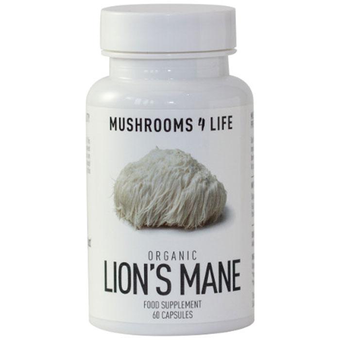 Mushrooms 4 Life Lions Mane 60 caps