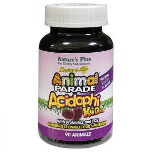 Nature's Plus Animal Parade AcidophiKid Chewables 90 caps