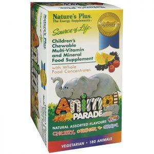 Nature's Plus Animal Parade Children's Chewable Multi Tablets