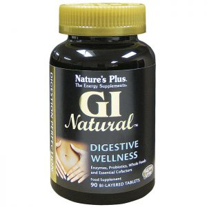 Nature's Plus GI Natural Bi-Layered Tablets  x90