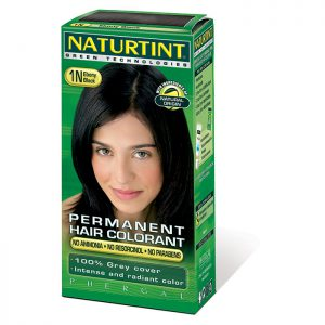 Naturtint Black Hair Colouring 1N 150ml