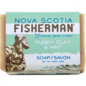 Nova Scotia Fisherman Fundy Clay & Mint Soap 136g