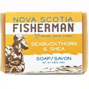 Nova Scotia Fisherman Sea Buckthorn & Shea Soap 136g