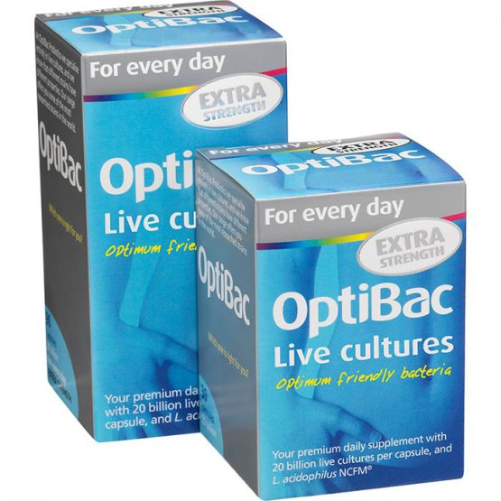 Optibac Daily Wellbeing Extra 30 Capsules