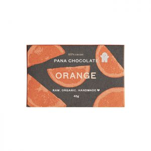 Pana Chocolate Orange 60% Cacoa 45g