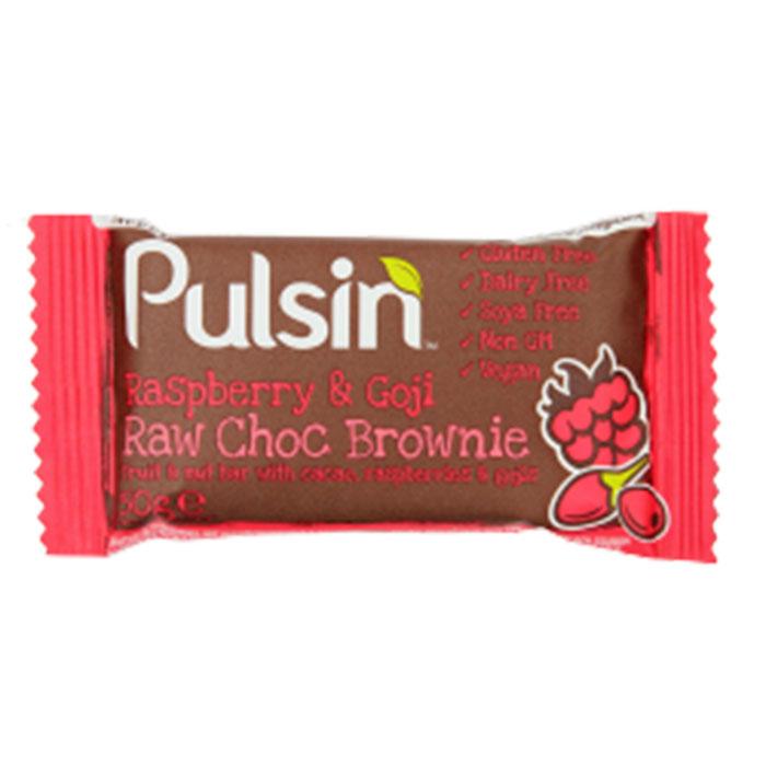 Pulsin Raspberry & Goji Bar 50g