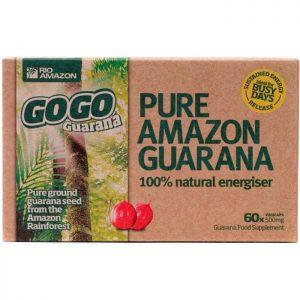 Rio Amazon GoGo Guarana 500mg  60 caps