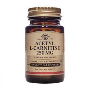 Solgar Acetyl-L-Carnitine 250mg  30 vcaps