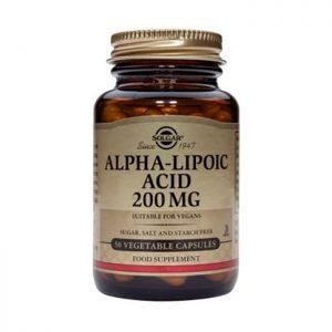 Solgar Alpha Lipoic Acid 200mg  50 vcaps