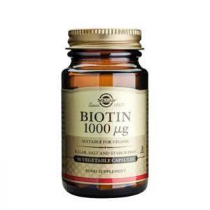 Solgar Biotin 1000mcg  50 vcaps